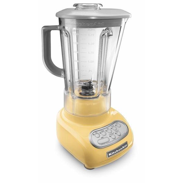 KitchenAid RKSB560MY Majestic Yellow 5-speed Blender (Refurbished)