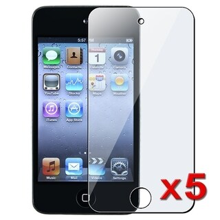 INSTEN Clear Screen Protector for Apple iPod touch 4 (Pack of 5)