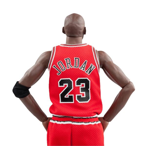 hot sale online 9030a 58508 Shop NBA Michael Jordan Away Red Jersey 1/6 Figure with Air ...