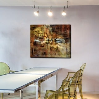 Ready2HangArt 'Rush no More' Gallery-wrapped Canvas Art