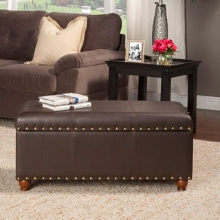 Leather Benches Amp Settees Overstock Com
