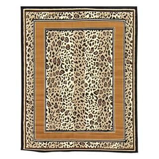 African Adventure Cheetah Area Rug (5' x 7')