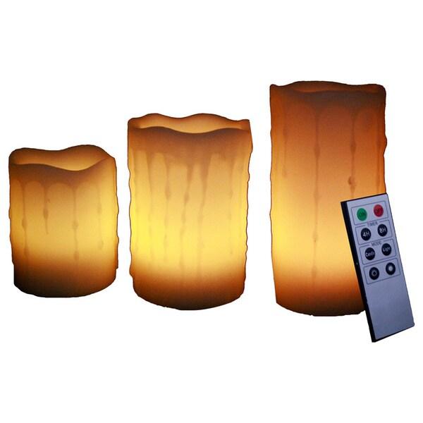 LED Flameless Pillar Candles