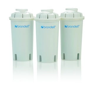 Brondell H2O+ Water Pitcher Filter Cartridges (Pack of 3)
