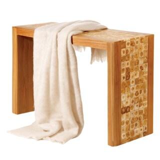Angora Wool Linen-colored Throw Blanket