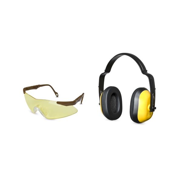 Mossy Oak Pachuta Ear Muff and Glasses Combo Pack