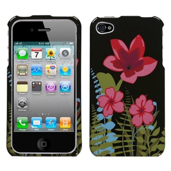INSTEN Garden Night Phone Case Cover for Apple iPhone 4/ 4S
