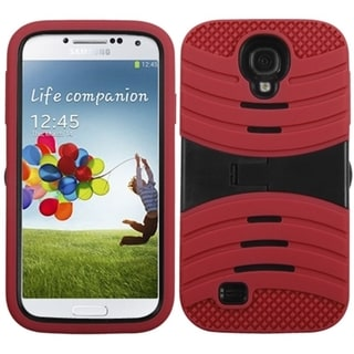 BasAcc Black/ Red Wave Case for Samsung Galaxy S4