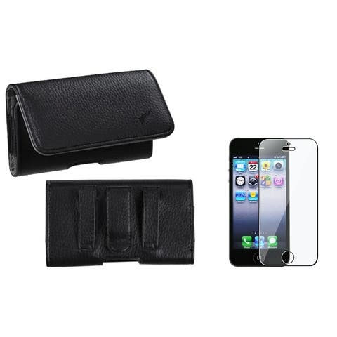 Insten Pouch-Style iPod Case Cover/ Clear Screen Protector for Apple iPod Touch 5th/ 6th