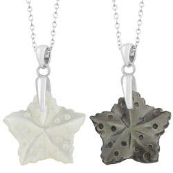 Fremada Rhodium-plated Sterling Silver Mother of Pearl Star Necklace https://ak1.ostkcdn.com/images/products/8303891/Fremada-Rhodium-plated-Sterling-Silver-Mother-of-Pearl-Star-Necklace-P15620722.jpg?impolicy=medium