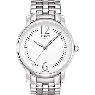 Tissot Women's T052.210.11.037.00 'Lady Round' Stainless Steel Watch|https://ak1.ostkcdn.com/images/products/8303964/P15620761.jpg?impolicy=medium