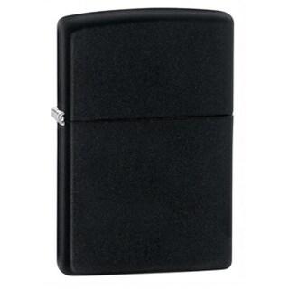 Black Matte 218 Zippo Lighter