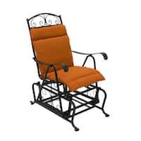 Blazing Needles Spun Poly Glider Chair Outdoor Cushion - 20 x 43