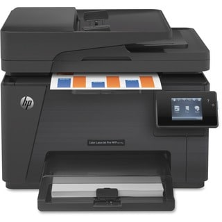 HP LaserJet Pro M177FW Laser Multifunction Printer - Color - Plain Pa