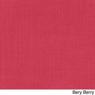 Blazing Needles All-Weather U-Shape Outdoor Settee Cushions (Set of 3) (Option: Bery Berry)
