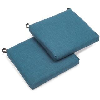 Blazing Needles Indoor/Outdoor Chair Cushions (Set of 2)