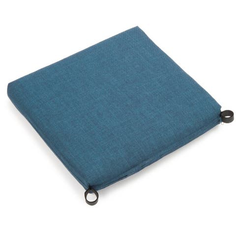 Blazing Needles 20-inch All-Weather Chair Cushion - 19 x 19