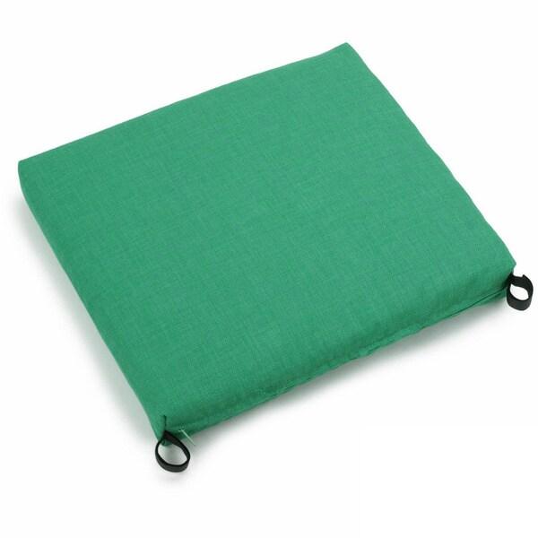 Blazing Needles Outdoor Spun Poly Chair Rocker Cushion
