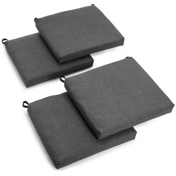 Blazing Needles 20-inch Indoor/Outdoor Chair Cushion (Set of 4). Opens flyout.