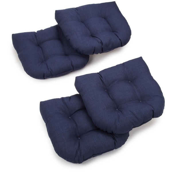 Blazing Needles 19-inch U-Shaped Chair Cushion (Set of 4) - 19 x 19. Opens flyout.
