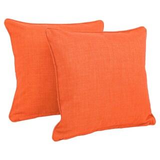 Orange Throw Pillows For Less Overstock Com