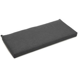 Blazing Needles All-Weather 42-inch Solid Outdoor Bench Cushion