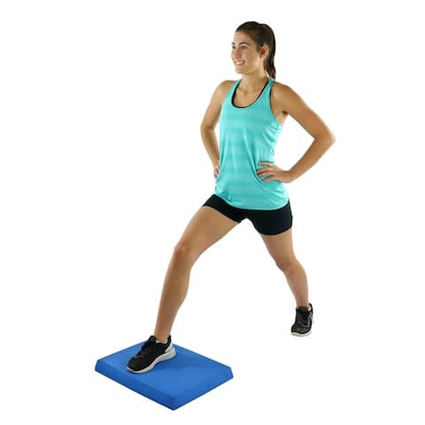 CanDo Balance Pad Foam Stability Trainer for Balance, Stretching, Physical Therapy, Mobility, Rehabilitation, and Core Strength.