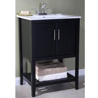 Bathroom Vanity Lights Too Hot espresso finish bathroom vanities & vanity cabinets - shop the