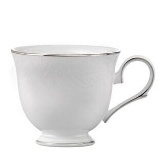 Lenox White and Platinum Artemis Tea Cup