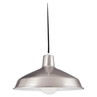 Pendant Single-light Brushed Stainless Finish