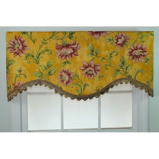 Morning Bliss Gold Cornice Valance
