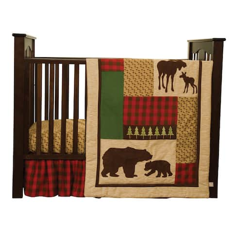 Trend Lab Northwoods 5-piece Crib Bedding Set