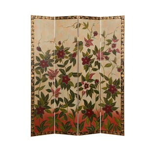 Sweet Nectar 4-panel Canvas Screen