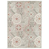 Felicity Grey Hand Tufted Wool Rug - 9'6 x 13'