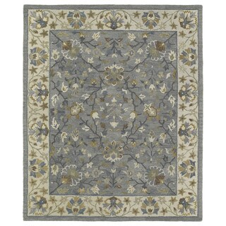 Felicity Comfort Grey Hand Tufted Wool Rug (7'6 x 9'0)