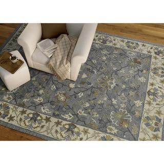 Felicity Comfort Grey Hand Tufted Wool Rug (8'0 x 11'0) - 8' x 11'