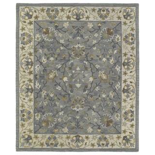 Felicity Comfort Grey Hand Tufted Wool Rug (5'0 x 7'6)