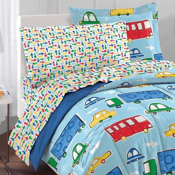 Traffic 5-piece Bed in a Bag with Sheet Set