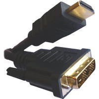Professional Cable HDMI Male to DVI Male Single Link - 2 Meters (6.6