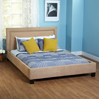Simple Living Microfiber Queen-size Bed