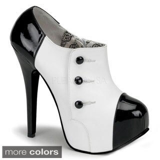 Bordello Women's 'TEEZE-20' 3-button Ankle Boots