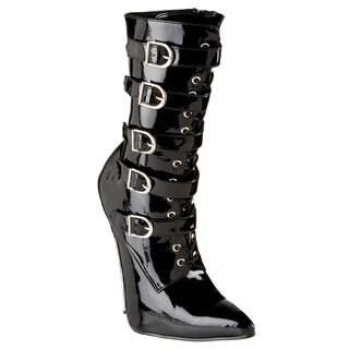 Devious Women's 'SCREAM-1026' Metal Heel Boots