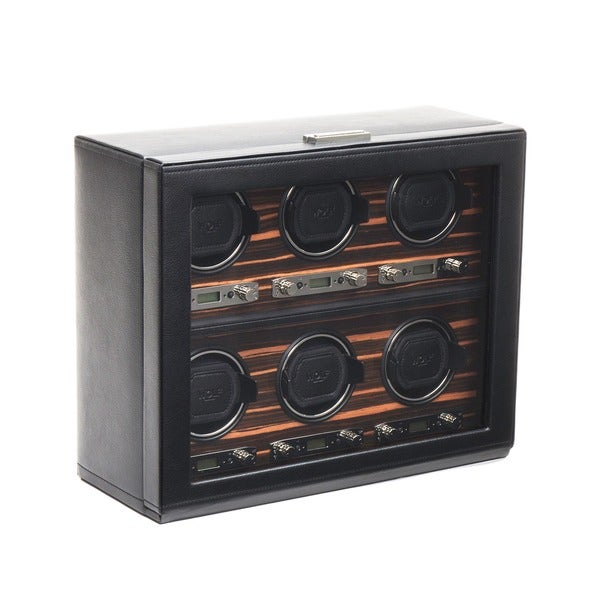 WOLF Roadster 6 Slot Watch Winder