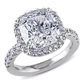 Miadora Signature Collection 18k Gold 5 5/8ct TDW GIA Certified Cushion-cut Halo Diamond Ring|https://ak1.ostkcdn.com/images/products/8306717/Miadora-18k-Gold-5-5-8ct-TDW-Certified-Cushion-Cut-Diamond-Ring-H-SI1-GIA-P15623070.jpg?impolicy=medium