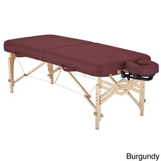 Earthlite Spirit Half Reiki/ Half Standard Panel 30-inch Portable Massage Table Package with Flexrest