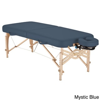 Earthlite Spirit Half Reiki / Half Standard Panel 30-inch Portable Massage Table Package with Flex-R
