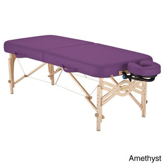 Earthlite Spirit Half Reiki/ Half Standard Panel 28-inch Portable Massage Table Package with Flexrest (More options available)