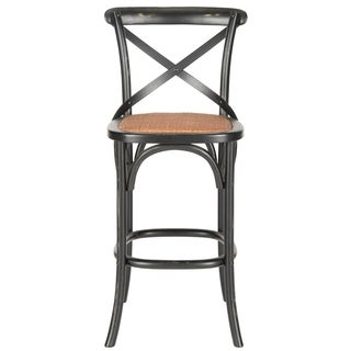 Safavieh 30.7-inch Franklin Hickory Oak Bar Stool