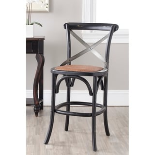 Safavieh 24.4 Inch Eleanor Hickory Counter Stool