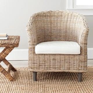 Superieur Safavieh U0027Omniu0027 Natural Wood Barrel Chair